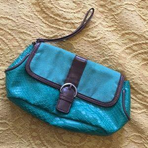 Pleather Wallet/Pencil Case